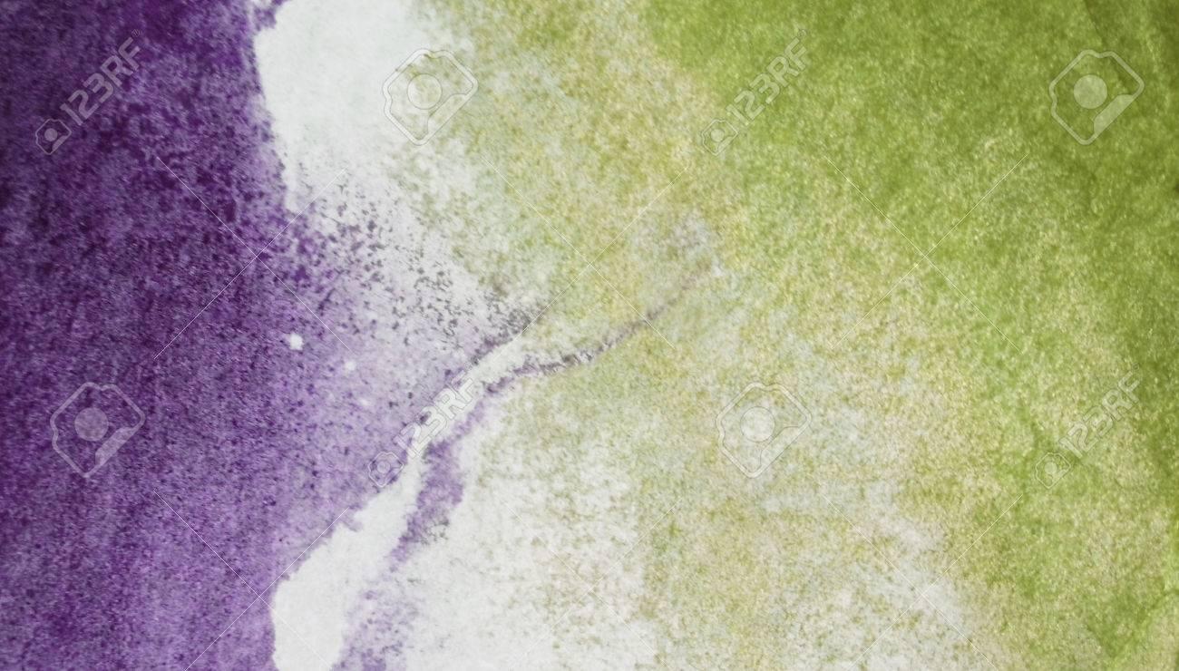 Gros Plan De Dégradé De Couleurs De Texture De Peinture, Violet à ...
