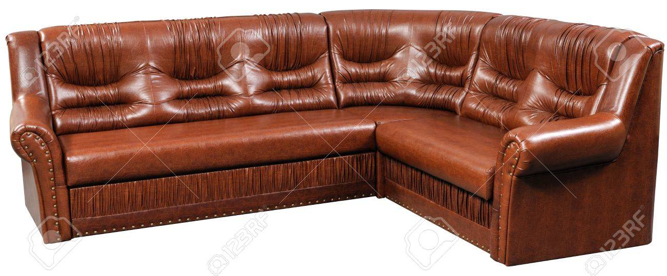 Captivating Modern Leader Furniture, Soft Sofa Bed Isolated On White With .
