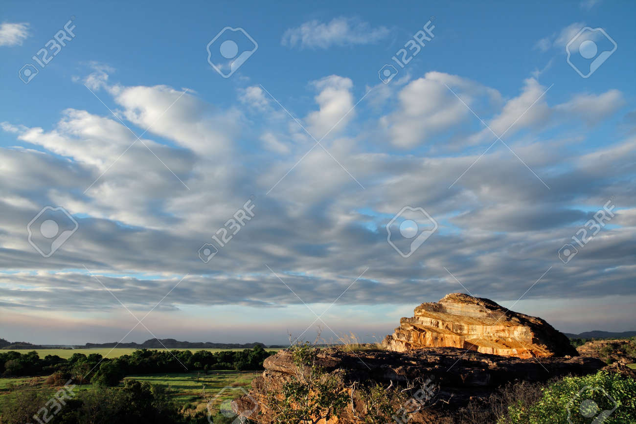 Landscape at Ubirr, Kakadu National Park, Northern Territory, Australia Stock Photo - 7807682