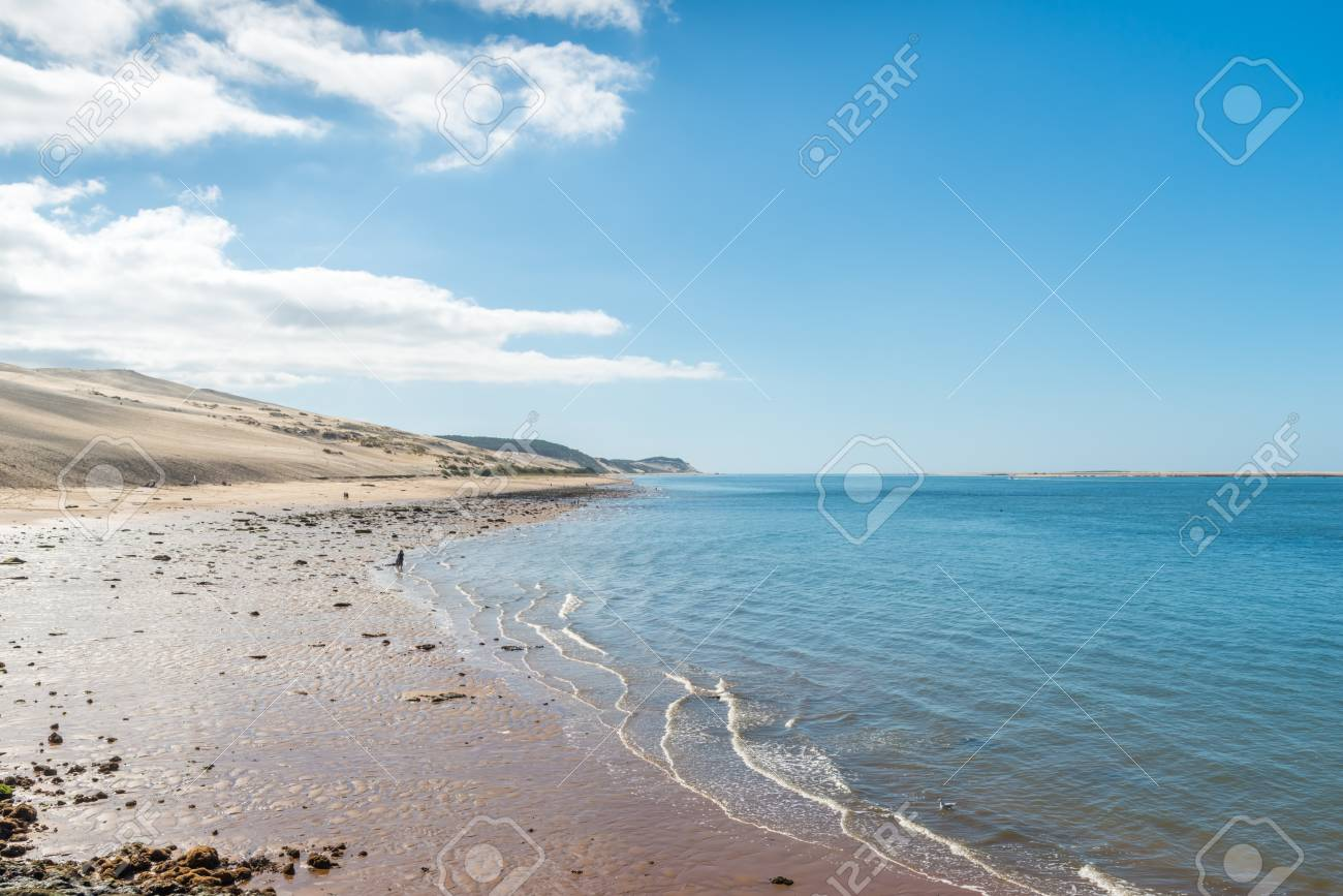 The Dune Of Pyla Or Pilat Arcachon Bay France Stock Photo