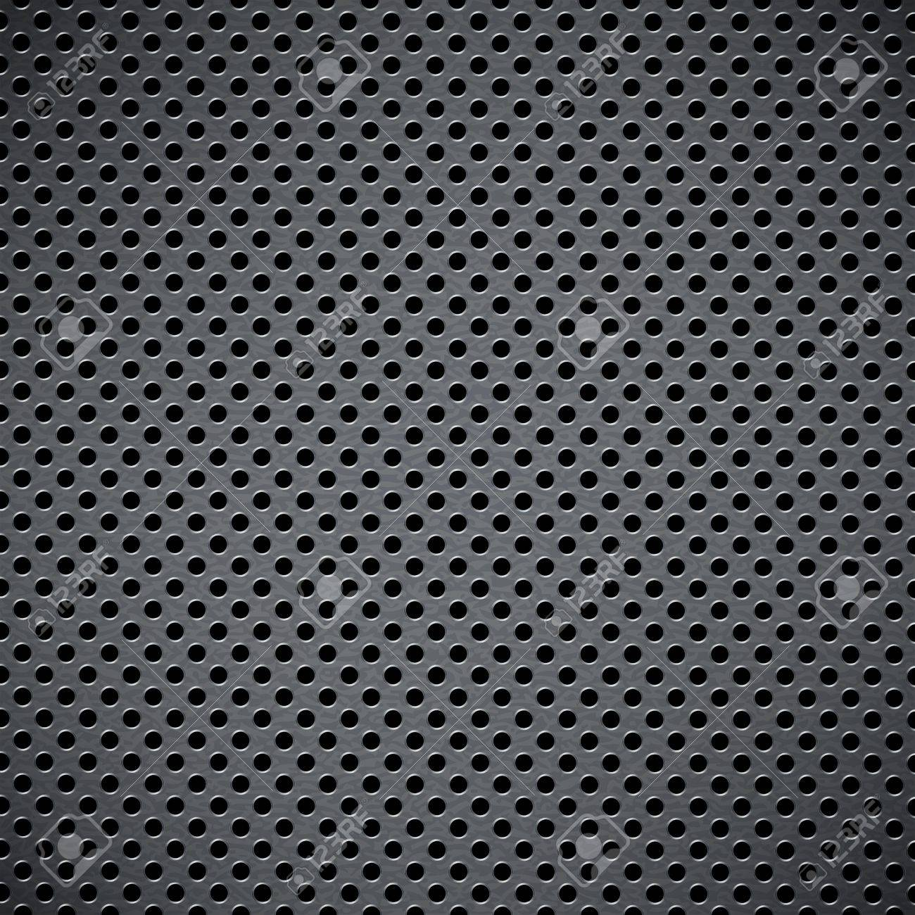 Metal background with circular grid. Raster version Stock Vector - 15253467