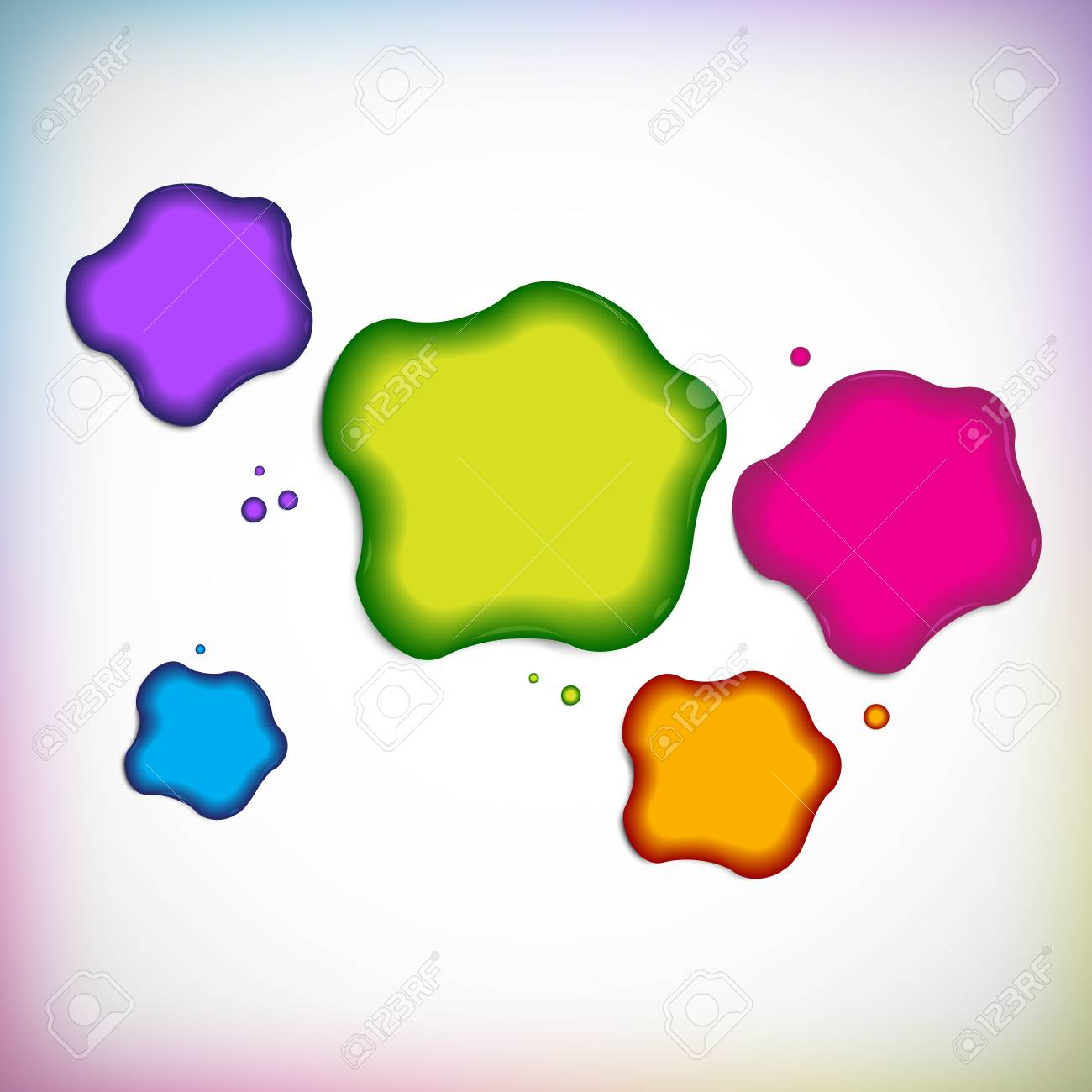 Vector background with blob Stock Vector - 16942808