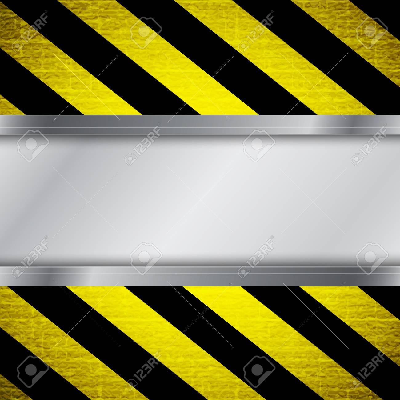 Warning stripe background Stock Vector - 16947699