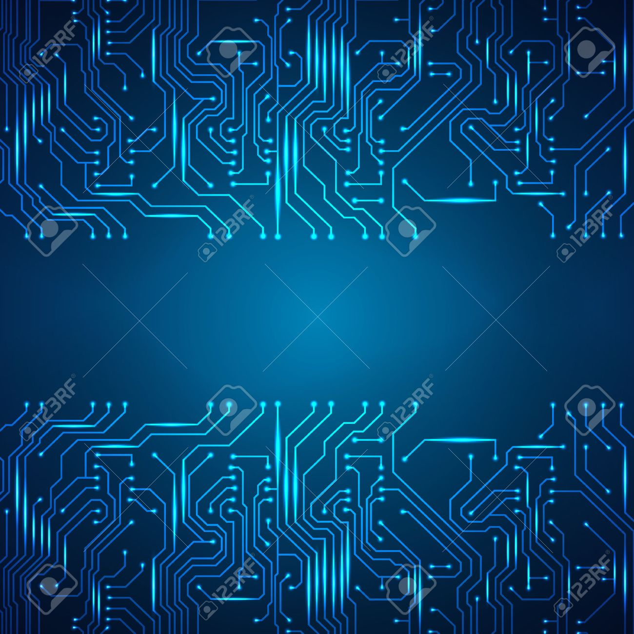Circuit Board Background. Royalty Free Cliparts, Vectors, And Stock ...