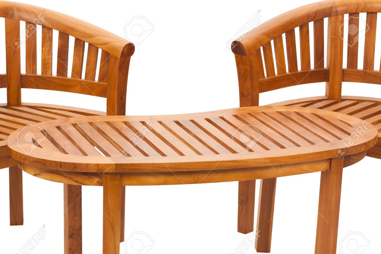 Cool Garden Wooden Chair Or Wood Bench Isolated On White Background Spiritservingveterans Wood Chair Design Ideas Spiritservingveteransorg