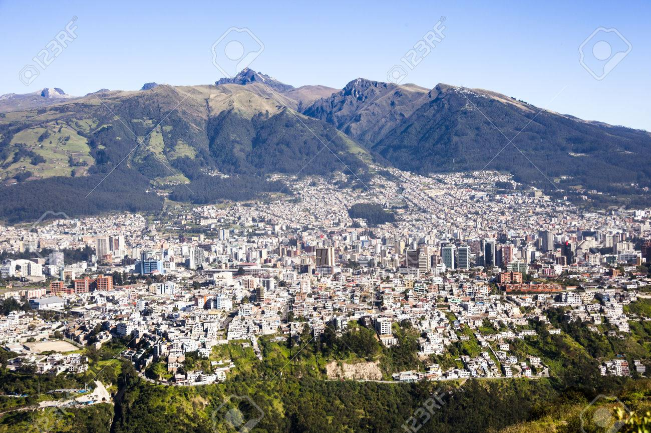 Quito Capital Of Ecuador Stock Photo Picture And Royalty Free - Capital of ecuador