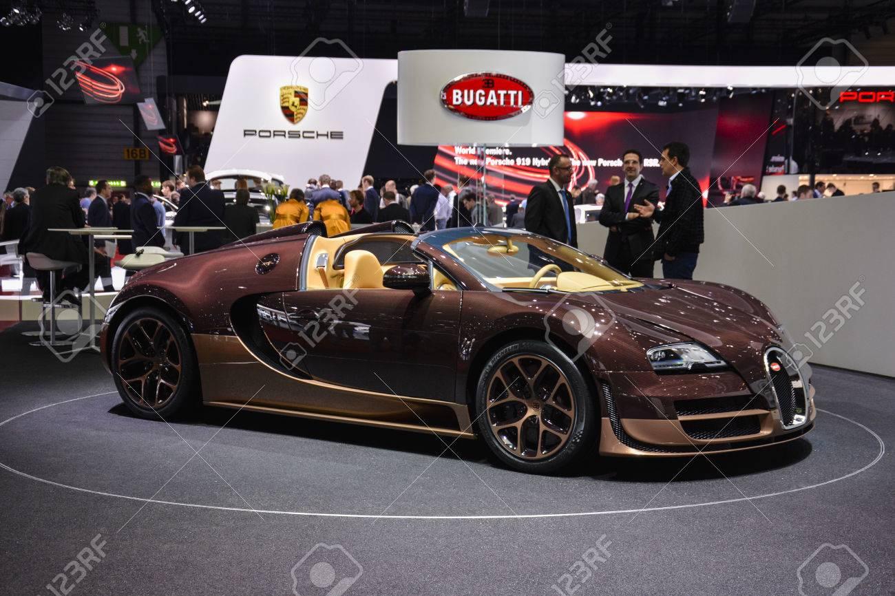 Bugatti Veyron Grand Sport Vitesse Rembrandt Bugatti On Display ...