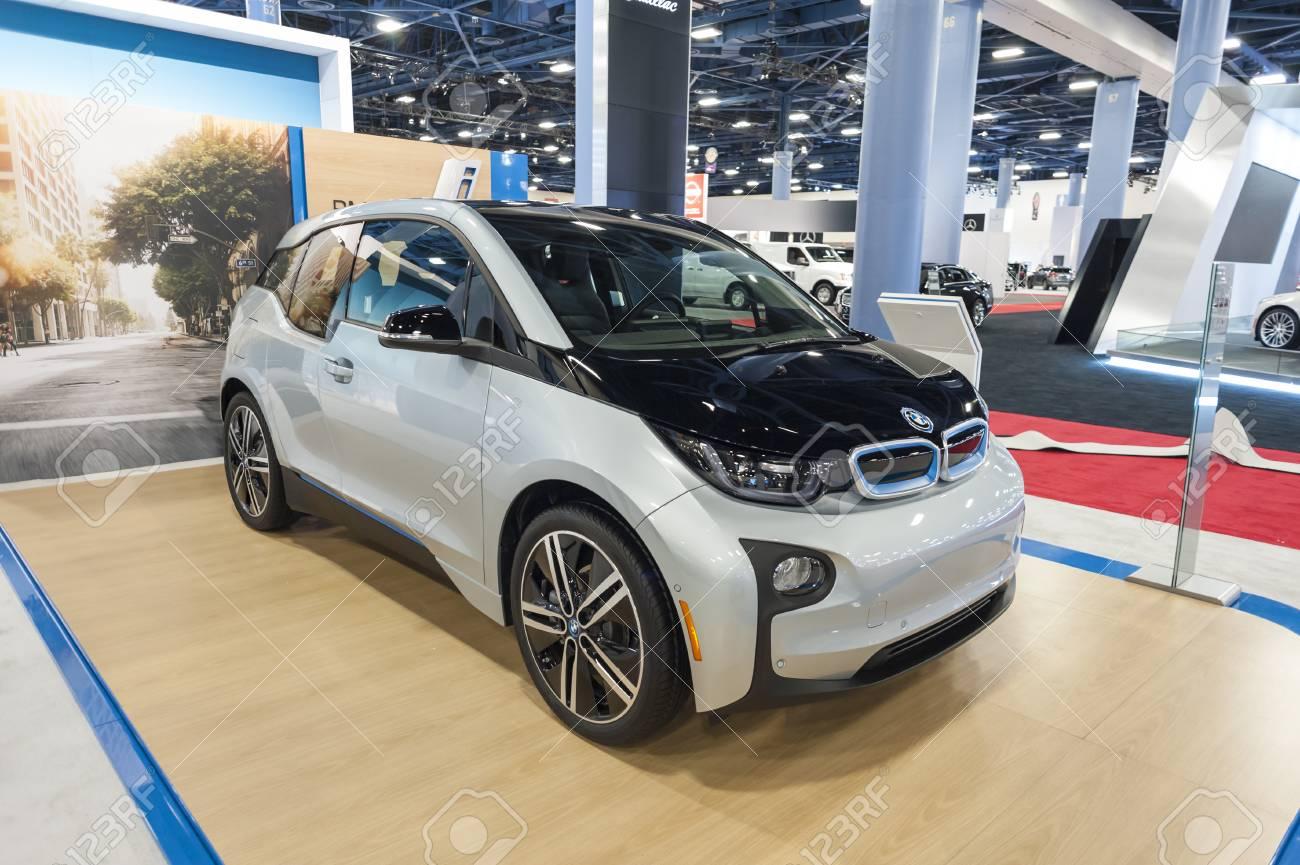 Miami Beach Fl Usa November 6 2015 Bmw I3 Electric Car Stock