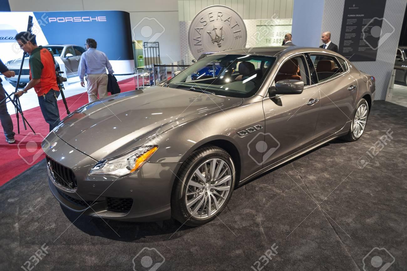 2015 Maserati Quattroporte >> Miami Beach Fl Usa November 6 2015 Maserati Quattroporte