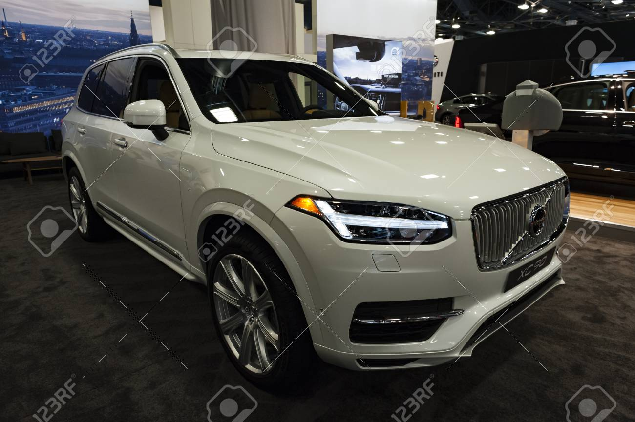 Miami, USA - September 10, 2016: Volvo XC90 T8 Twin Engine Plug-in