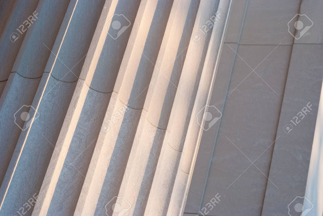 Detailed view of Greek style architectural column Stock Photo - 17159097