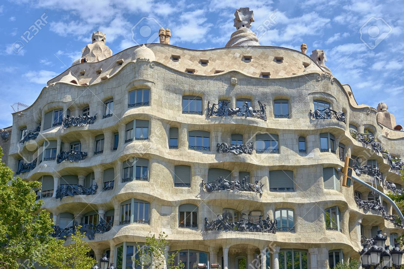 Image result for barcelona casa mila