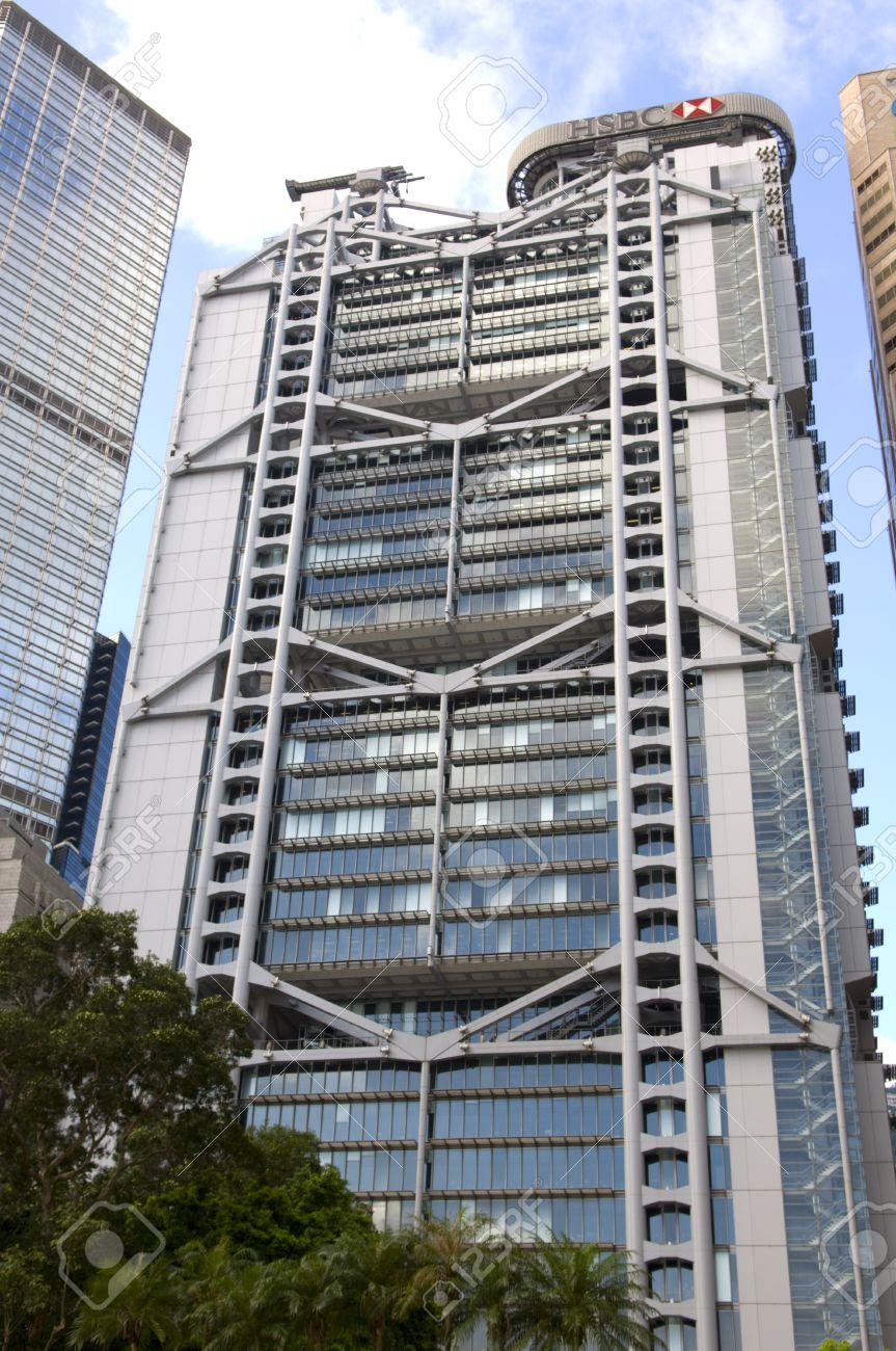 Hong Kong HSBC Main Building Headquarters Admirlty Central ...