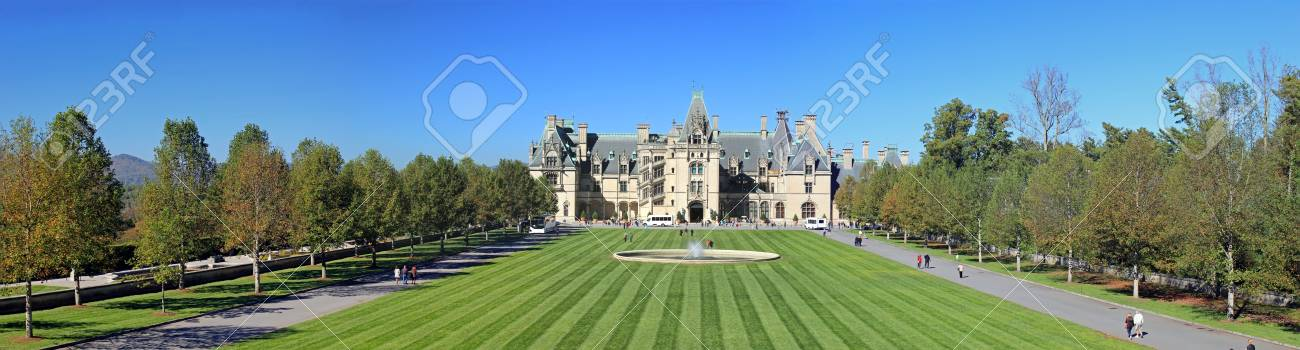 Biltmore Estate In Asheville Nc Stock Photo Picture And Royalty