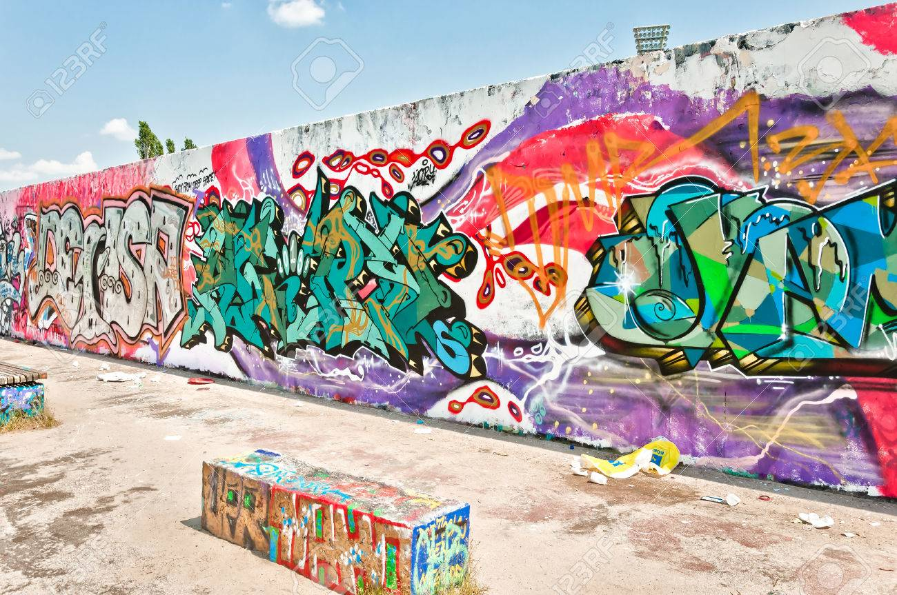 Grafiti wall berlin - Berlin Germany June 09 Graffiti On Mauerpark Wall On June 09 2013 In