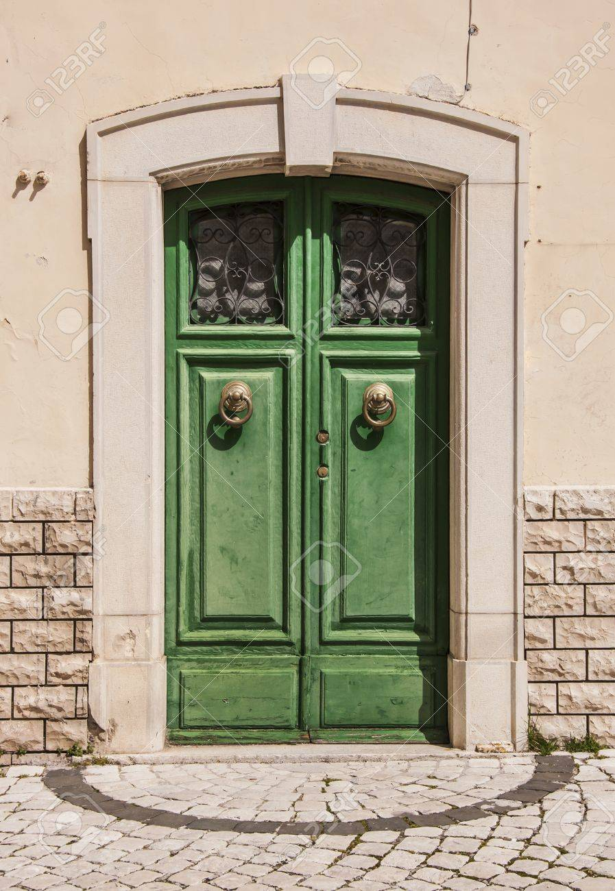 italian door in small village Italy Stock Photo - 18866562 & Italian Door In Small Village Italy Stock Photo Picture And ...