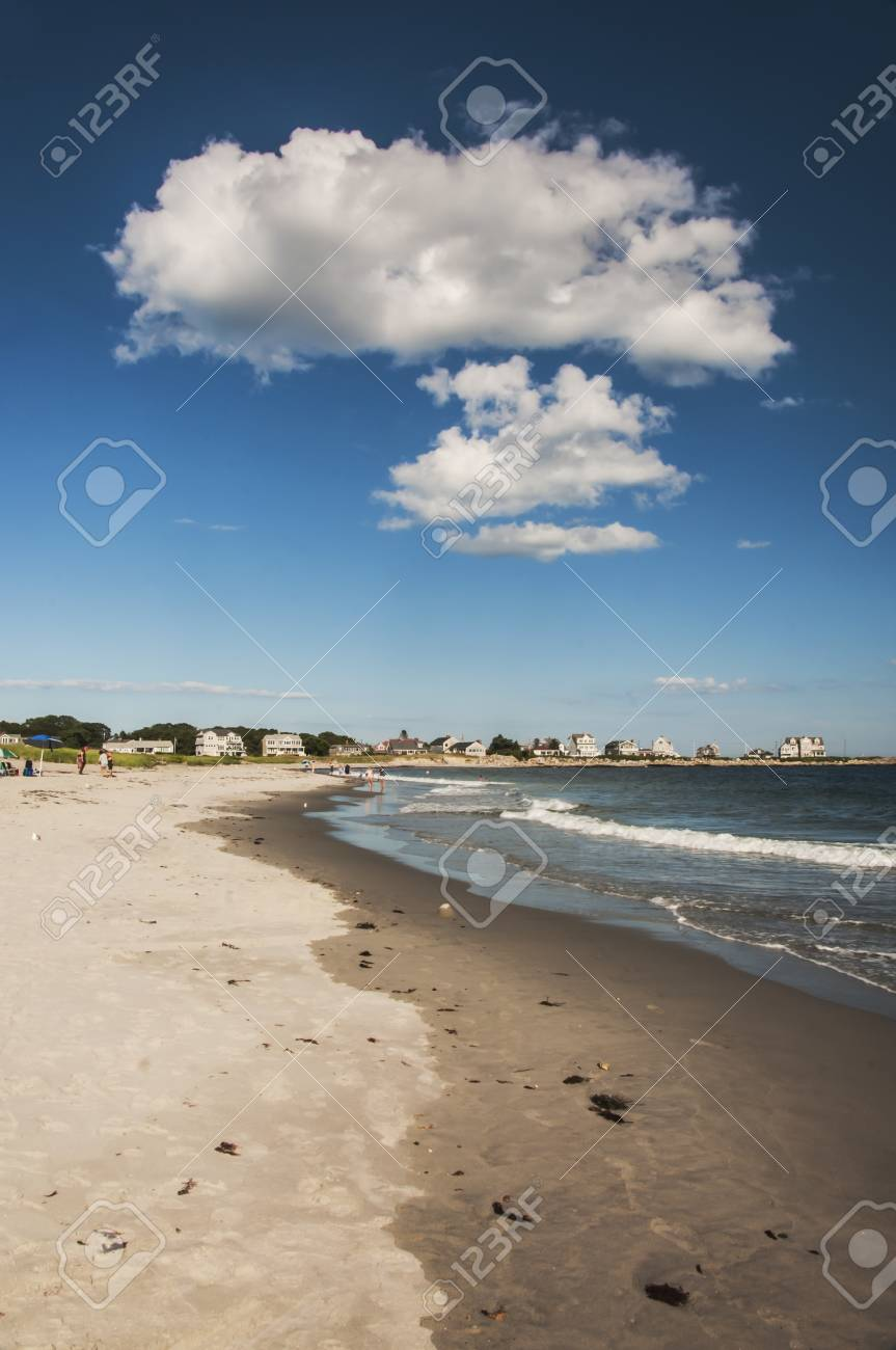 Ocean Beach In Biddeford Pool In Maine Usa Stock Photo Picture And Royalty Free Image Image 22012595