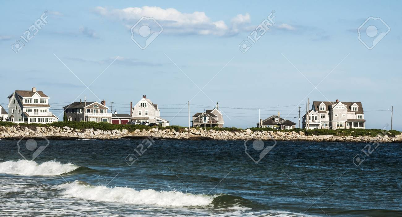 Ocean Coast In Biddeford Pool In Maine Usa Stock Photo Picture And Royalty Free Image Image 26965332