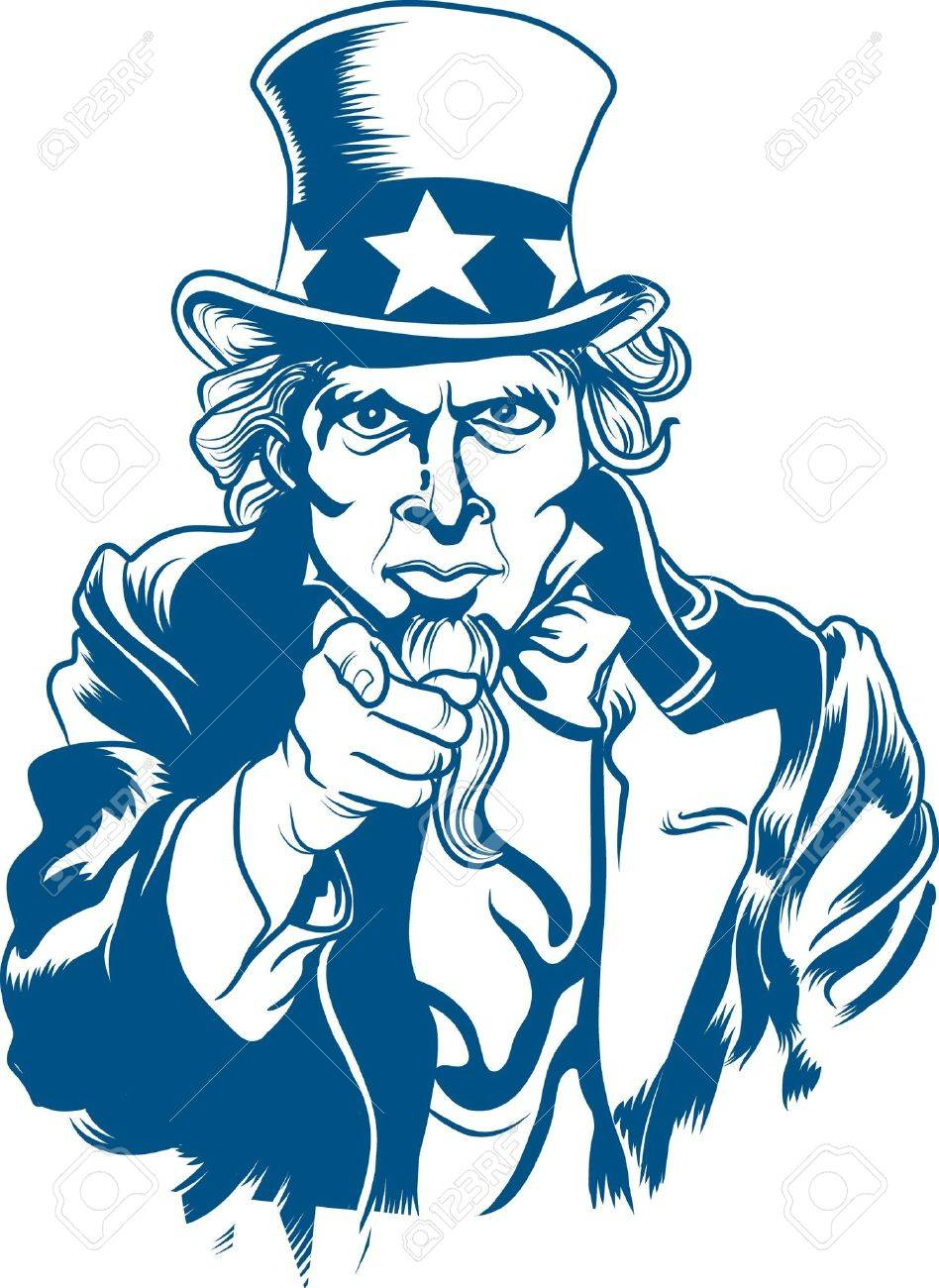 vector illustration of uncle sam royalty free cliparts vectors and rh 123rf com uncle sam logo vector uncle sam vector image