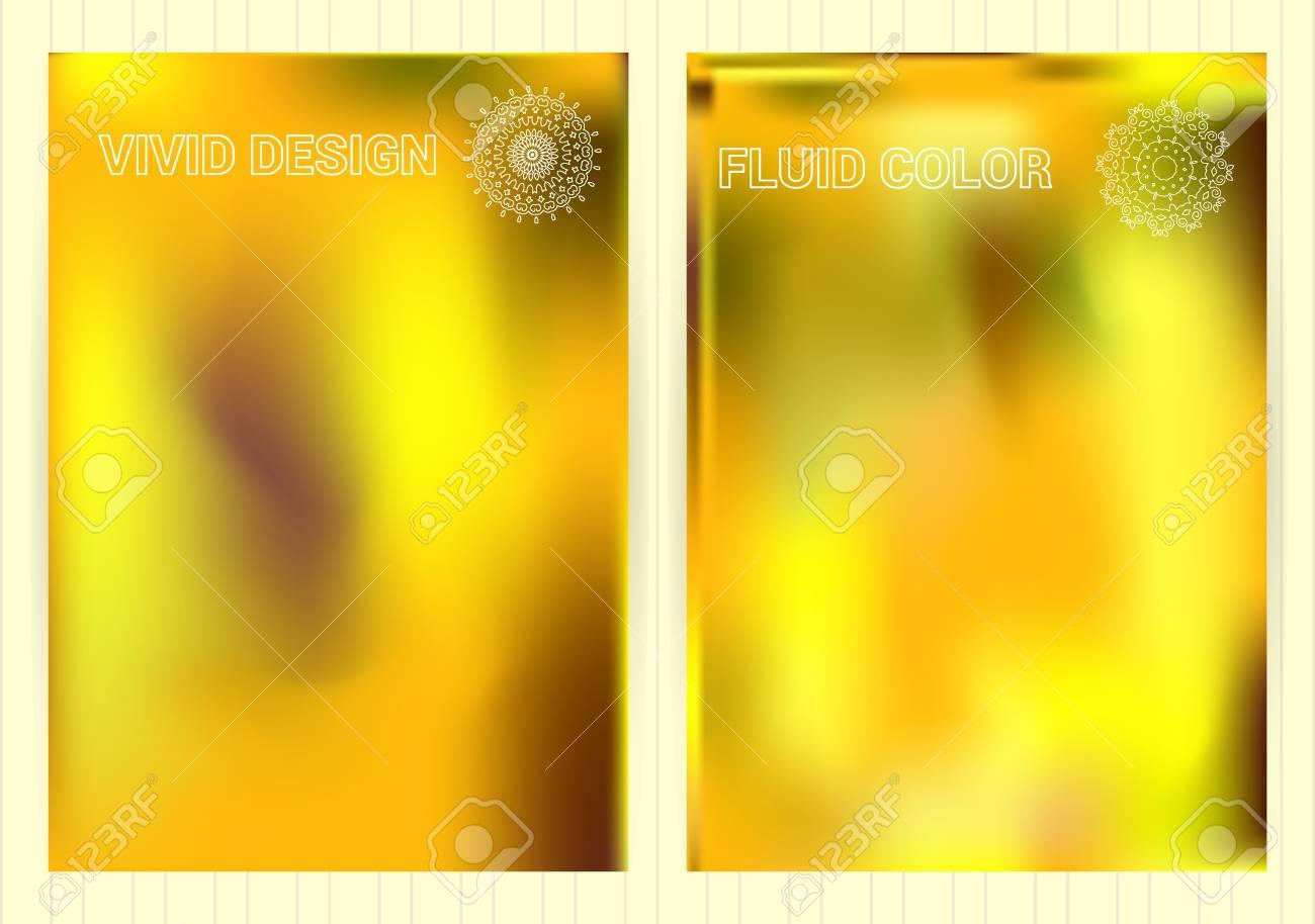 Fond De Couleur Fluide Modeles Vecteur Colores Lumineux Avec Des Emblemes Pour Carte Visite Flyier Plackard Banniere Brochure Papier Peint