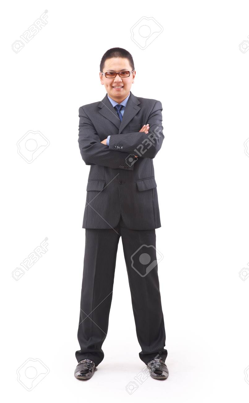 A good looking young asian businessman Stock Photo - 11686766