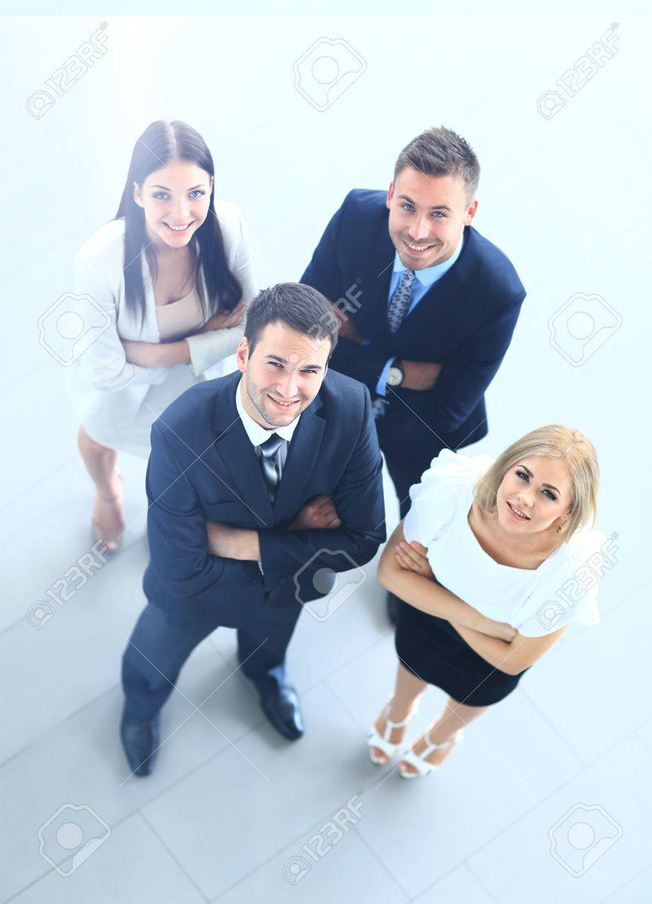 Top view of business people - 67467903