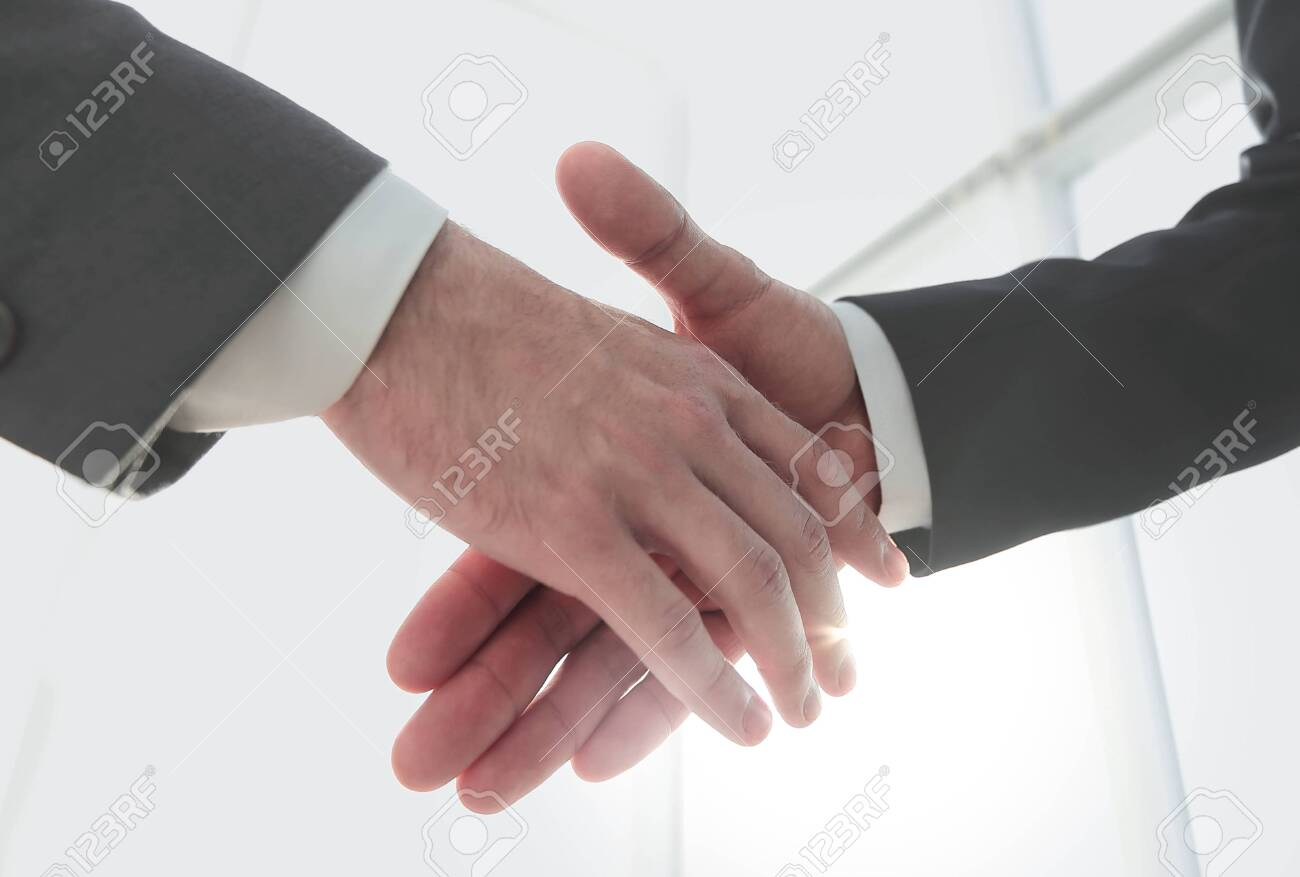 Effective negotiation with client. Business concept photo. - 146142394