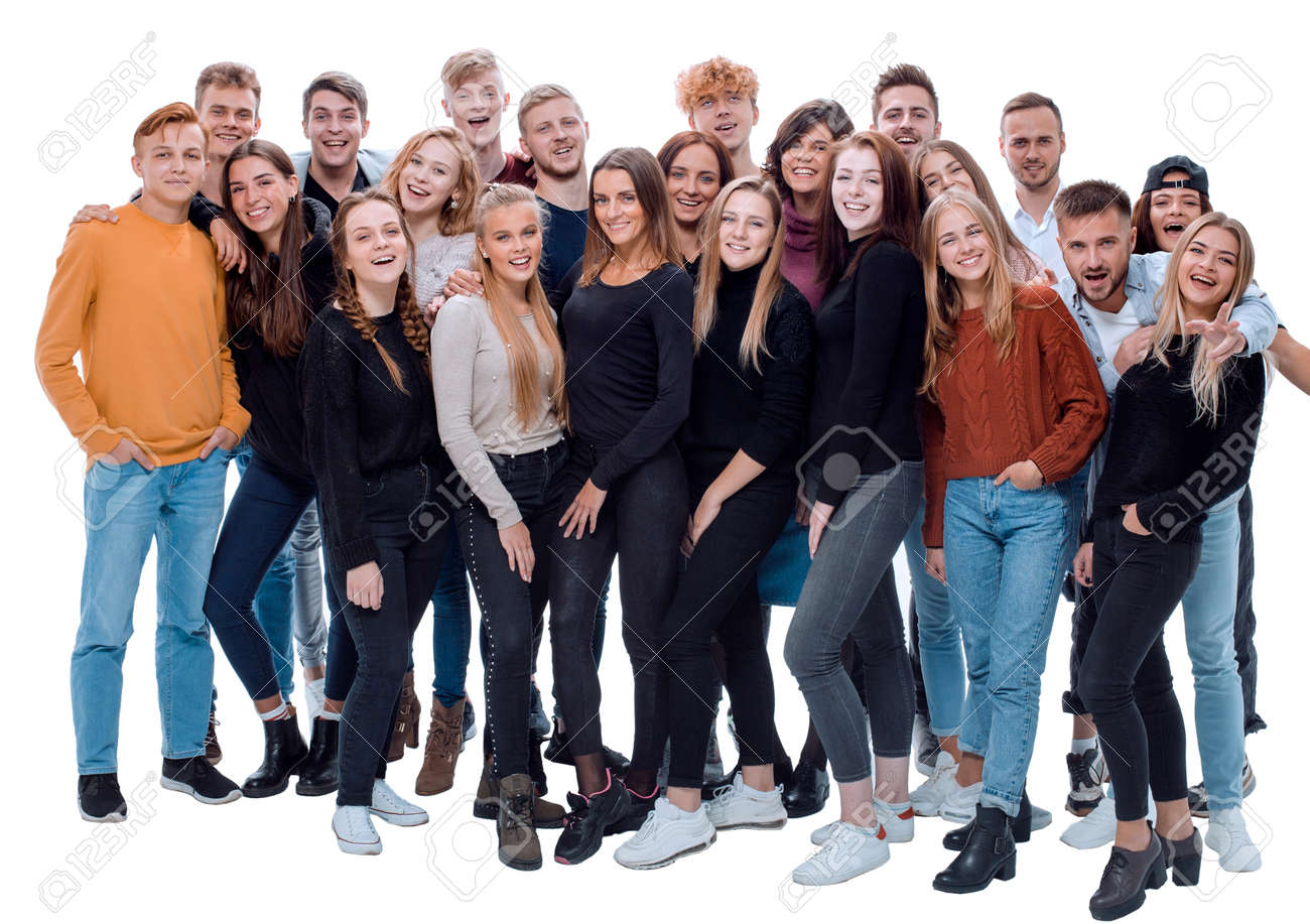 team of happy young people .success concept - 165815740