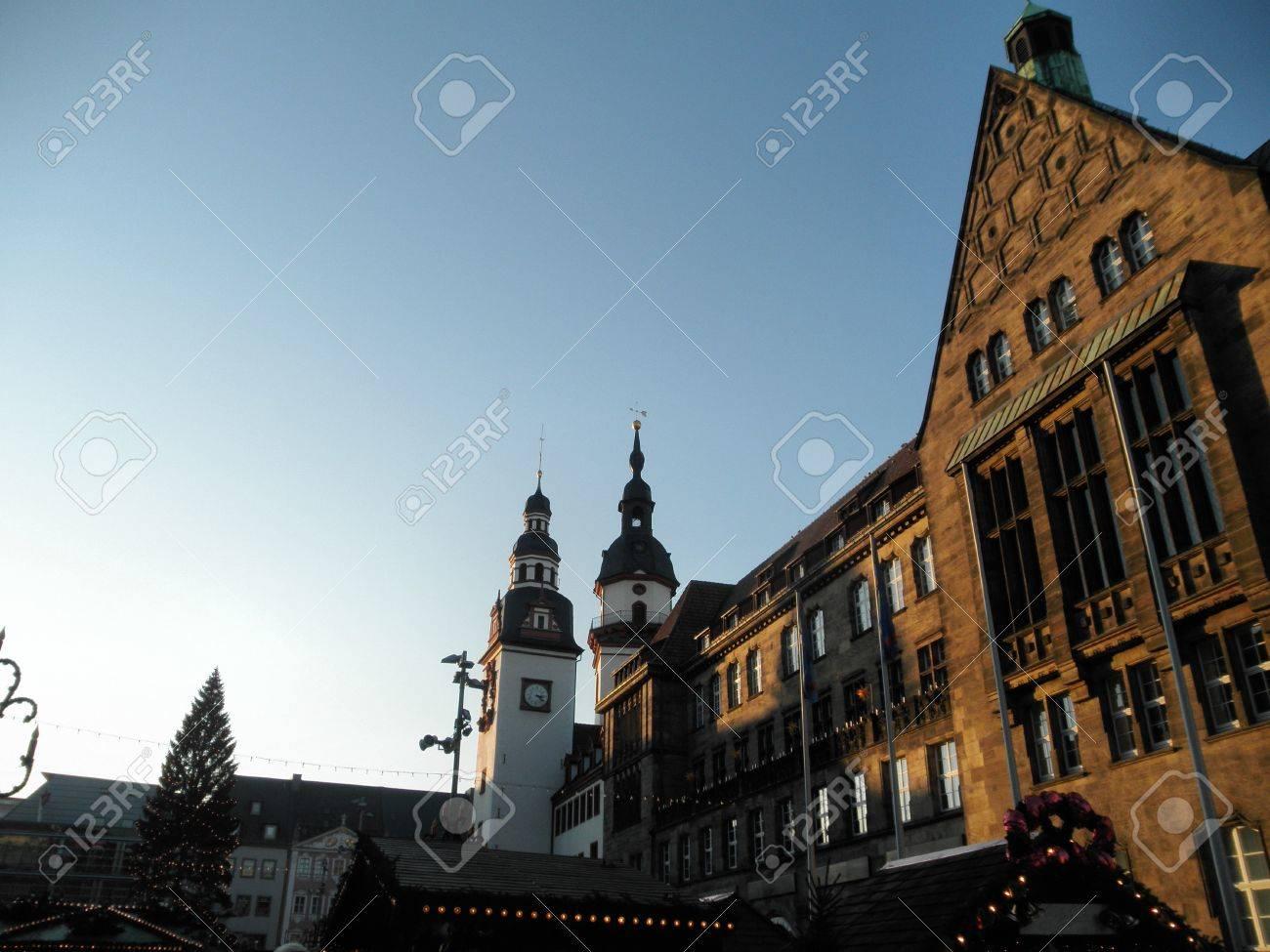 Weihnachtsbaum Kaufen Chemnitz.Stock Photo