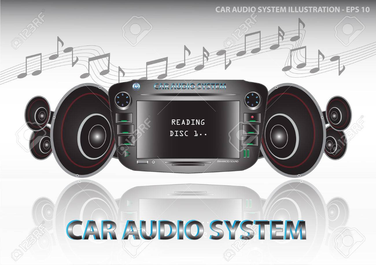 Car Audio System Video And Audio Car Dvd Player Include Radio Fm