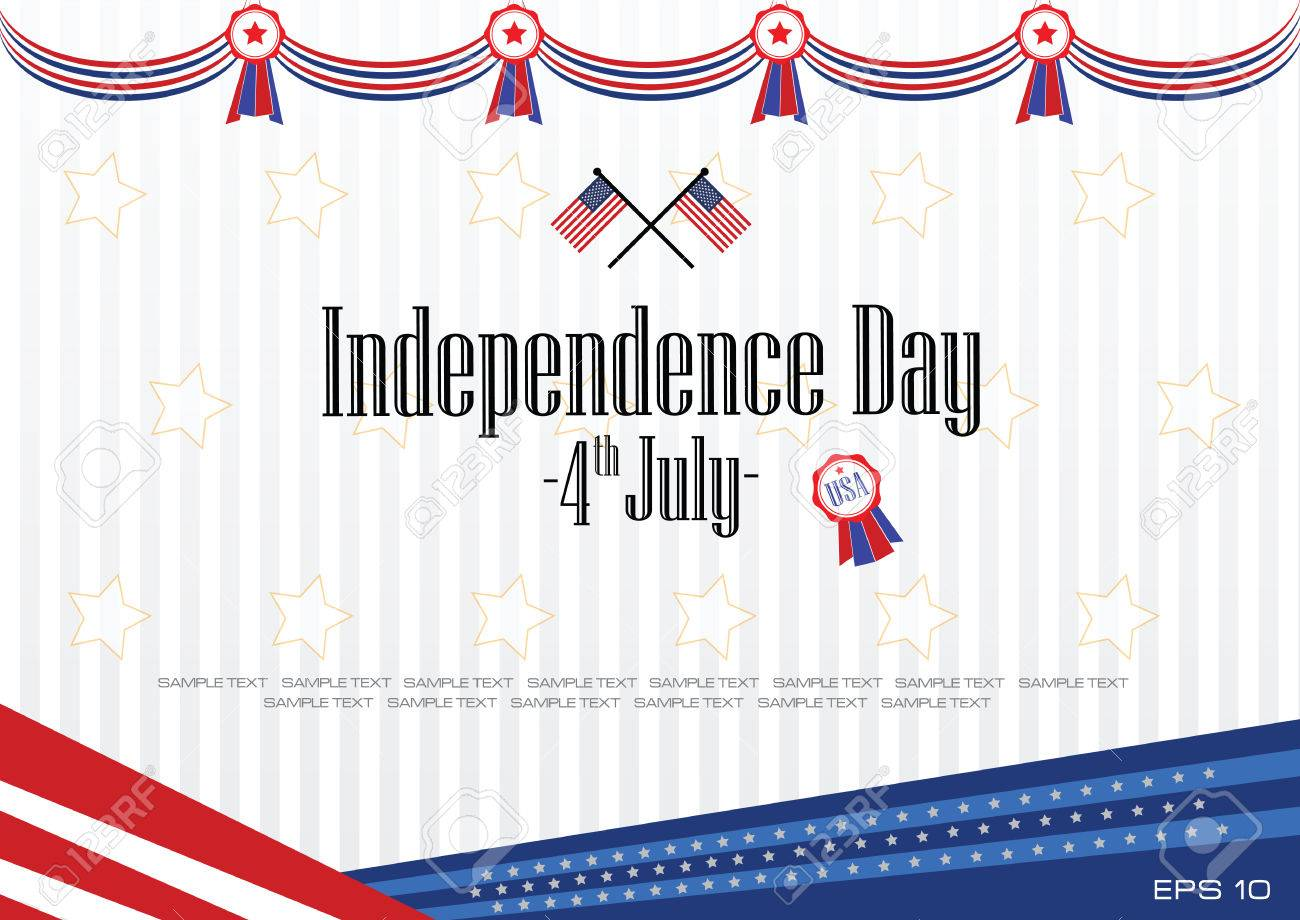 modern independence day background or independence backdrop for presentation or printing. easy to modify. - 40600401