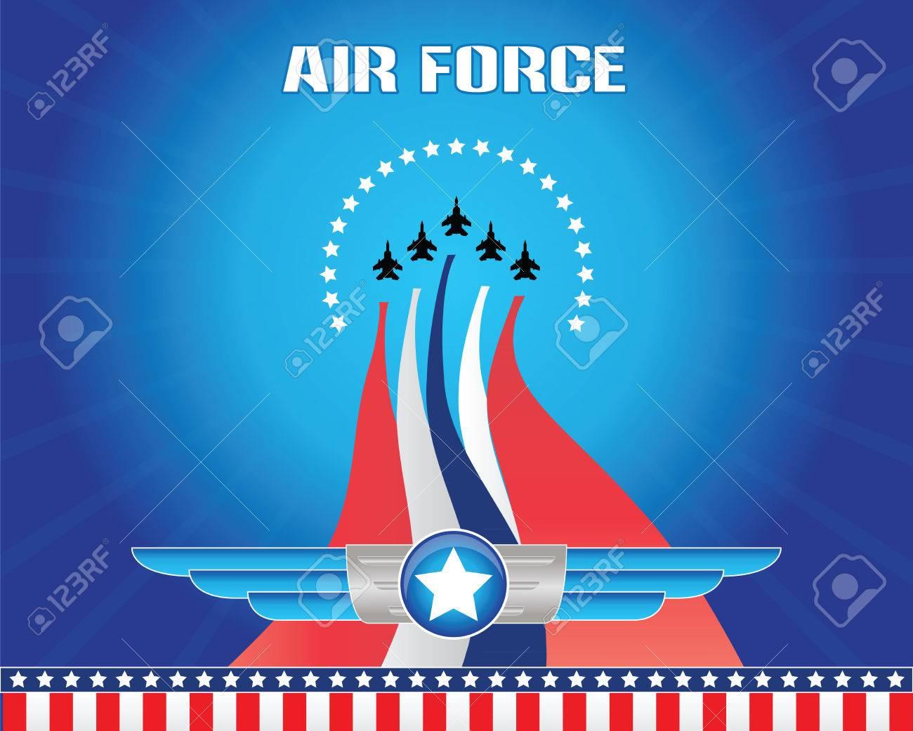 air force illustration - 40613299