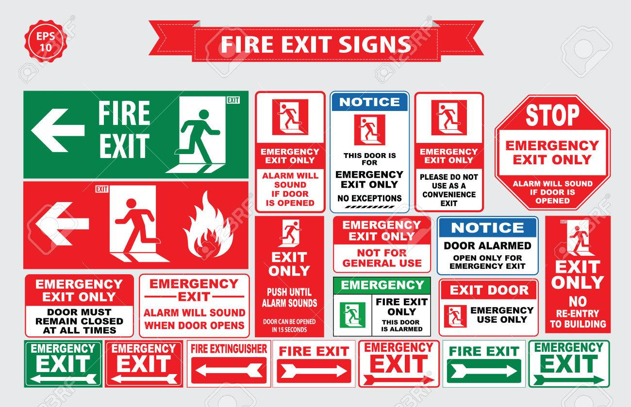 Emergency stop icon clipart emergency off - Fire Emergency Signs Emergency Shut Off Break Glass Alarm Sound Hose Reel
