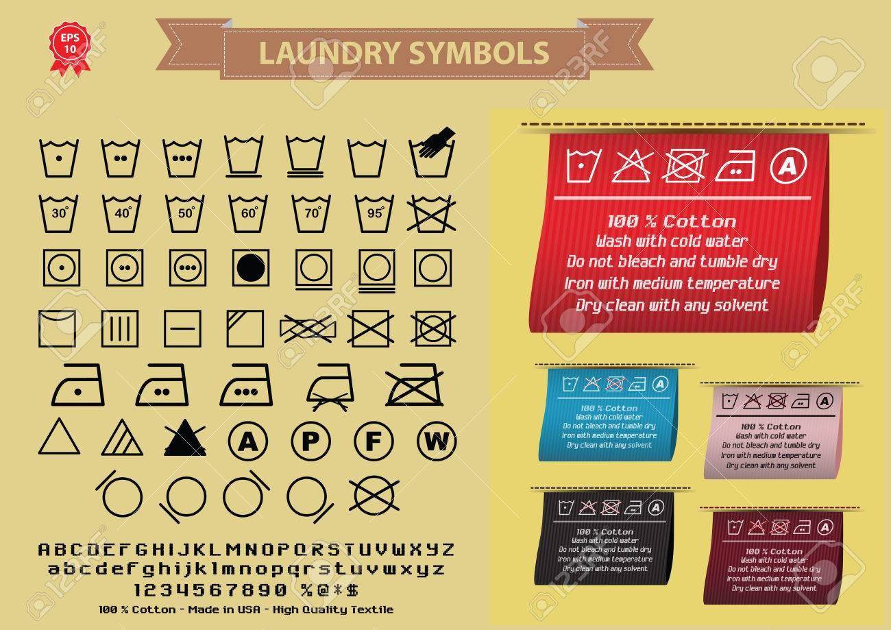 Laundry symbols or washing symbols easy to modify royalty free laundry symbols or washing symbols easy to modify stock vector 52492024 buycottarizona Images