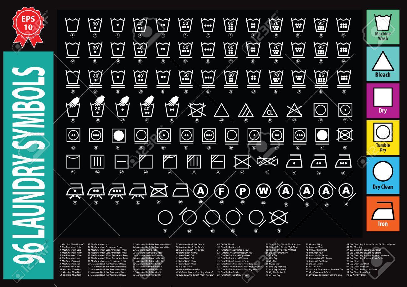 Laundry symbols or washing symbols easy to modify royalty free laundry symbols or washing symbols easy to modify stock vector 52550962 buycottarizona Images