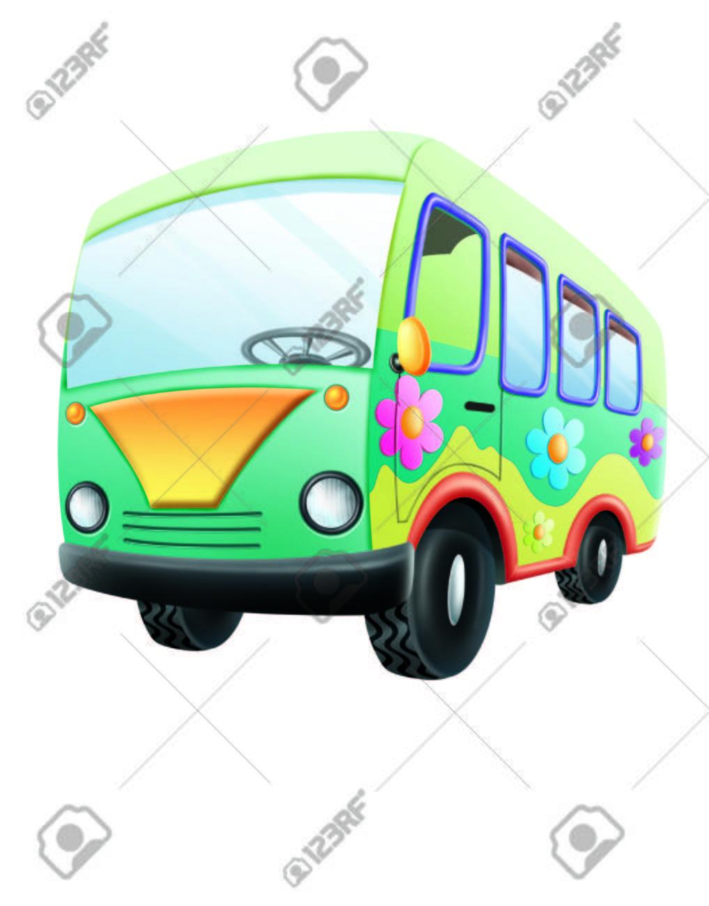 バン バス イラスト の写真素材画像素材 Image 59797110