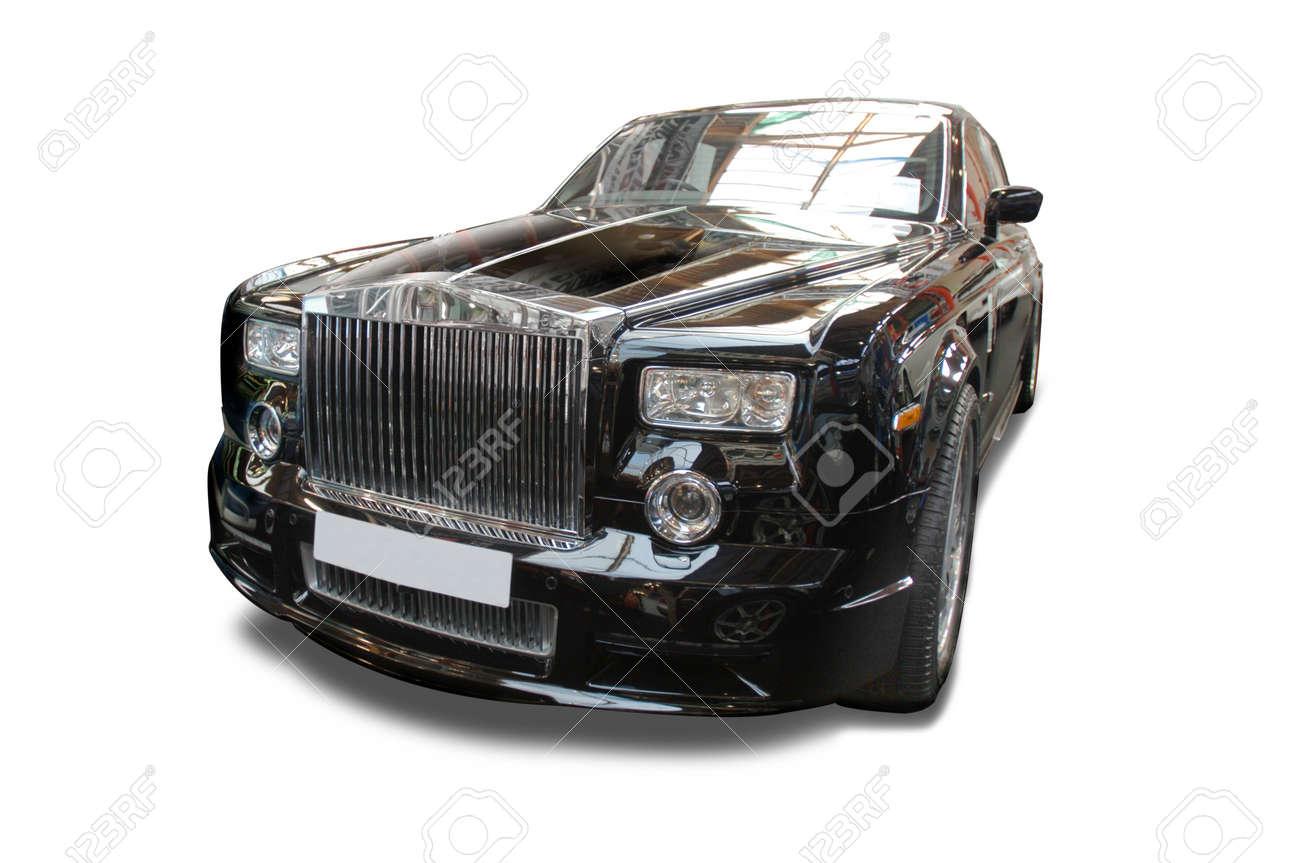 Luxury Rolls Marque Stock Photo - 7931993