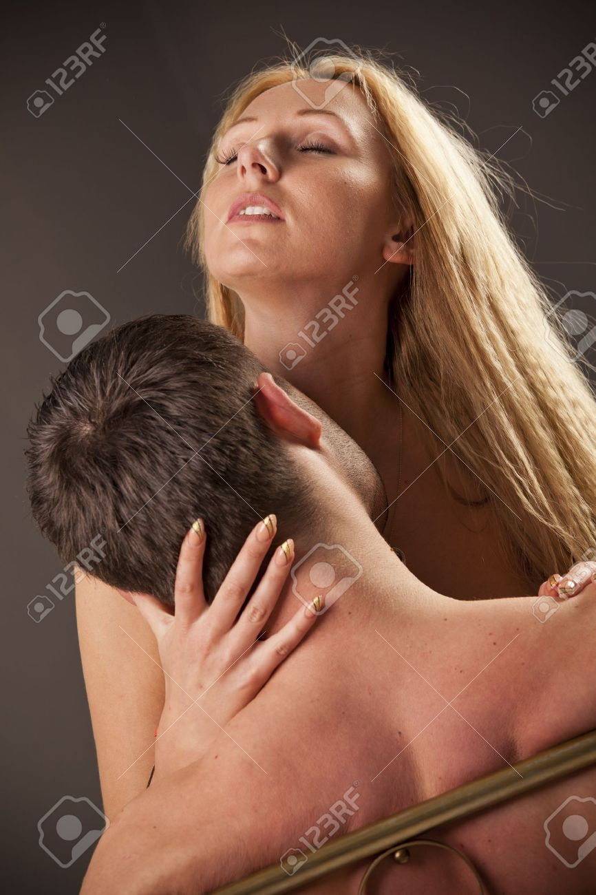 young couple making love in bed Stock Photo - 13137026