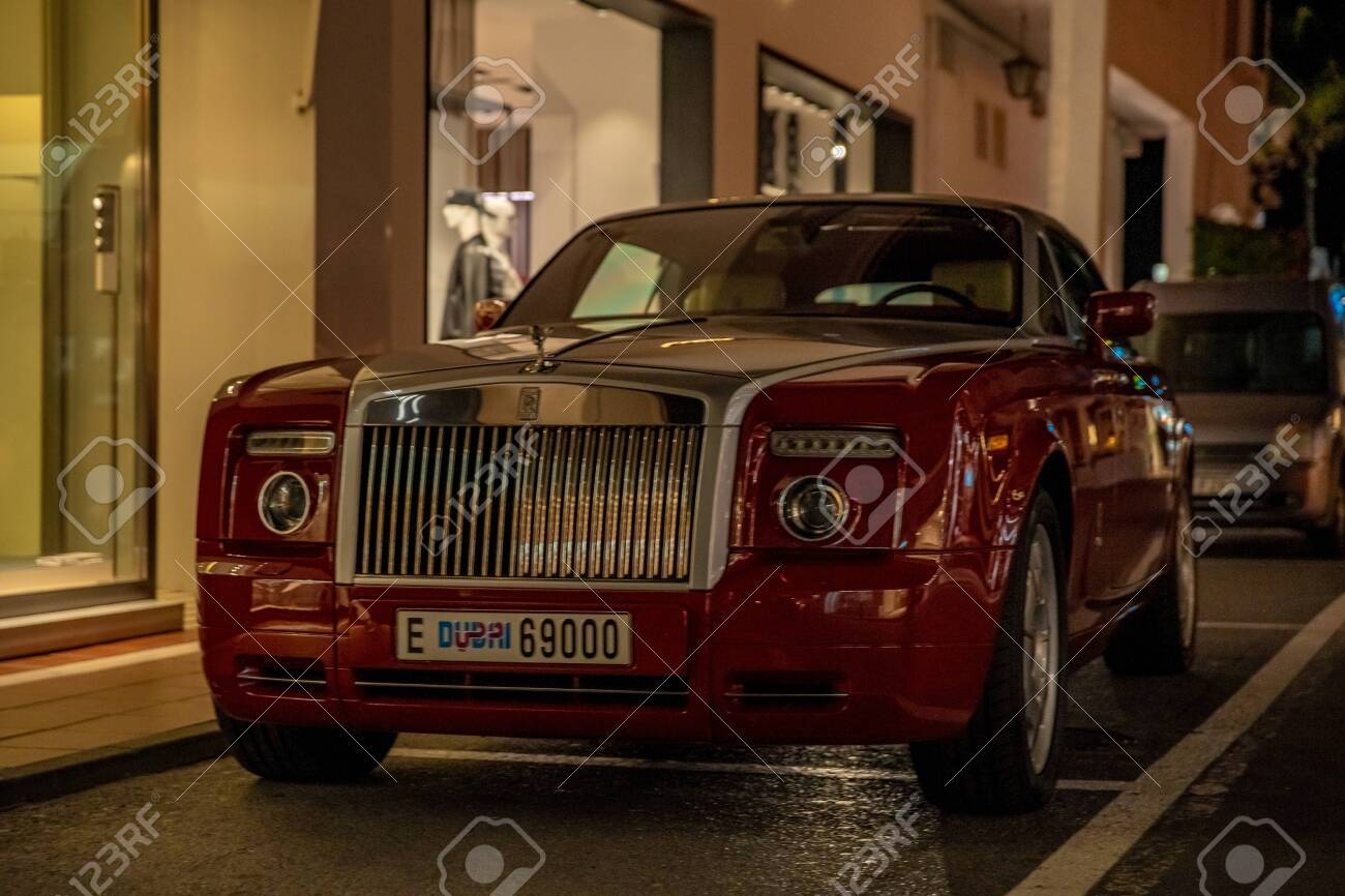 Marbella January 13 2020 Rolls Royce Luxury Car In An Affluent Stock Photo Picture And Royalty Free Image Image 143728432