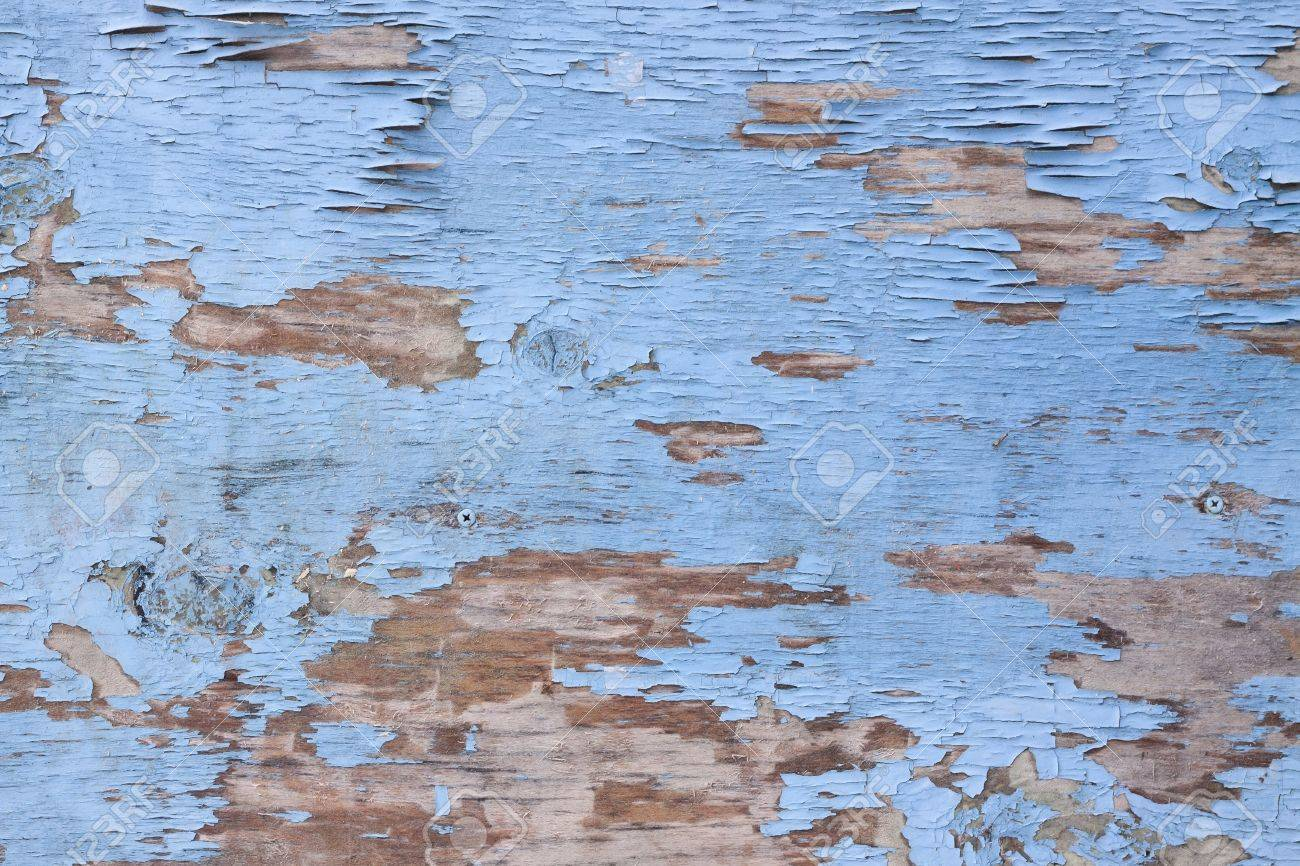 Wooden texture with old peeling paint Stock Photo - 17372002