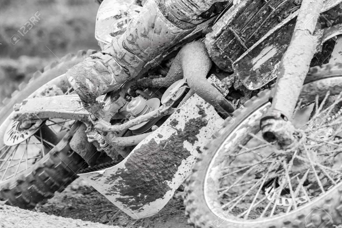 Closeup of a motocross bike - 31503163