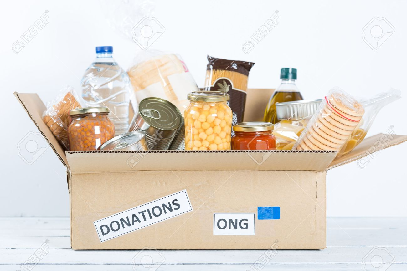 Supportive housing or food donation for poor - 47552967