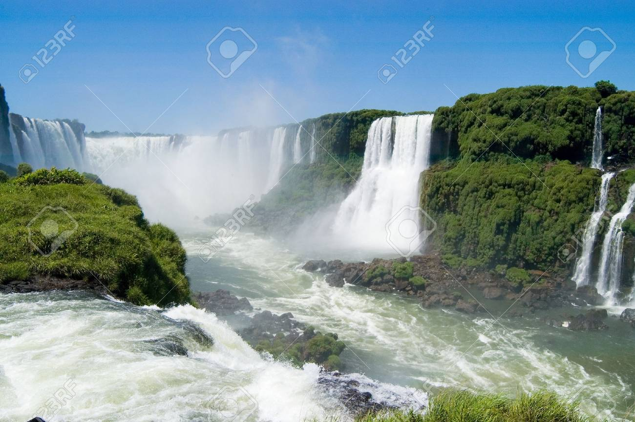 Iguazu Falls in Argentina Stock Photo - 3208502