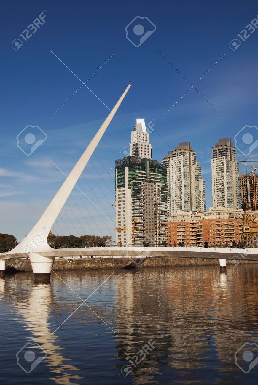 Puerto Madero, touristic destination in Buenos Aires, Argentina Stock Photo - 3293071