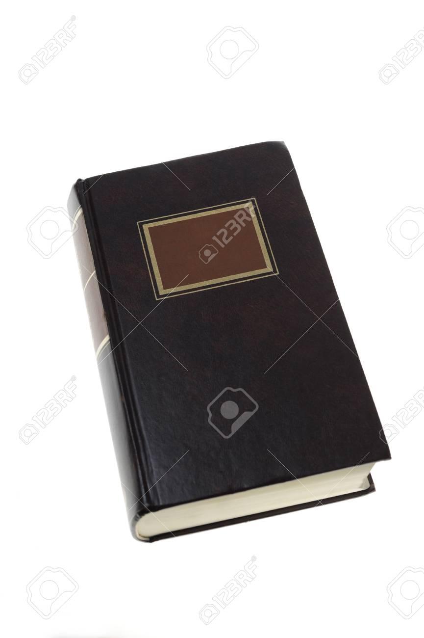 Ferme Le Livre Ancien Propre A Blanc