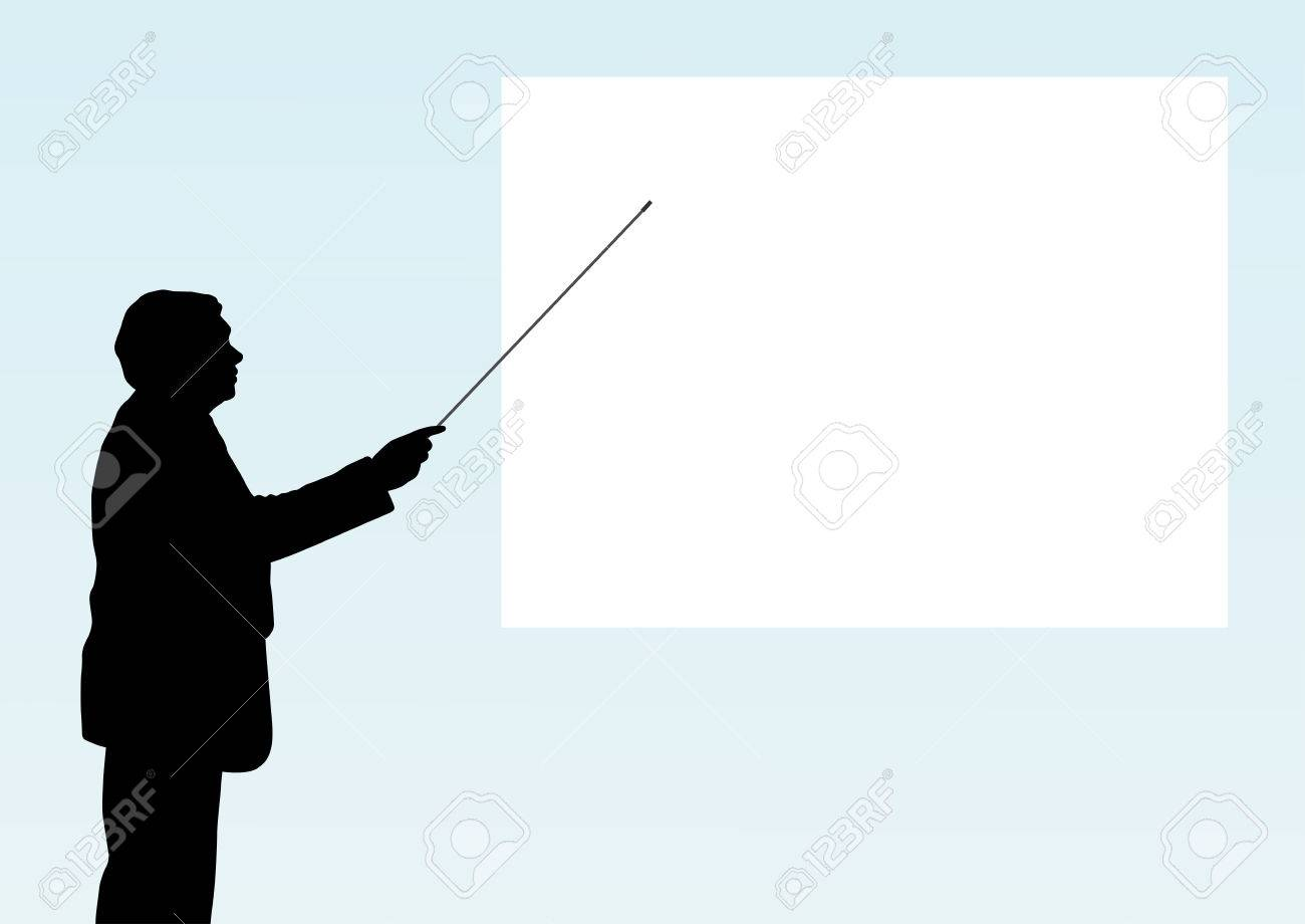 Presentation with a blank space for text Stock Vector - 5710202
