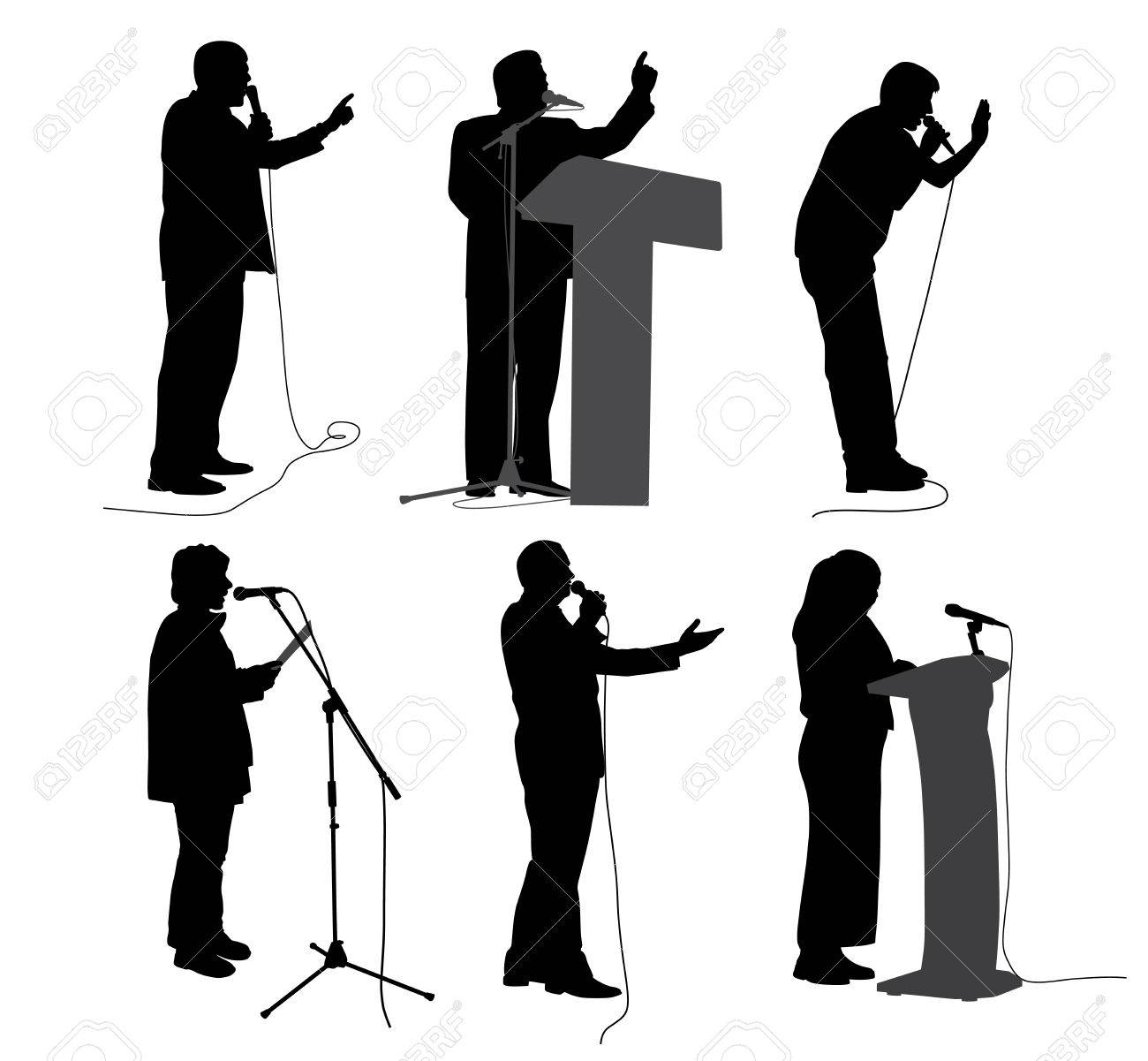 Hablar En Público Discurso Motivacional Ponentes De Negocios Presentadores Políticos O Conferenciantes