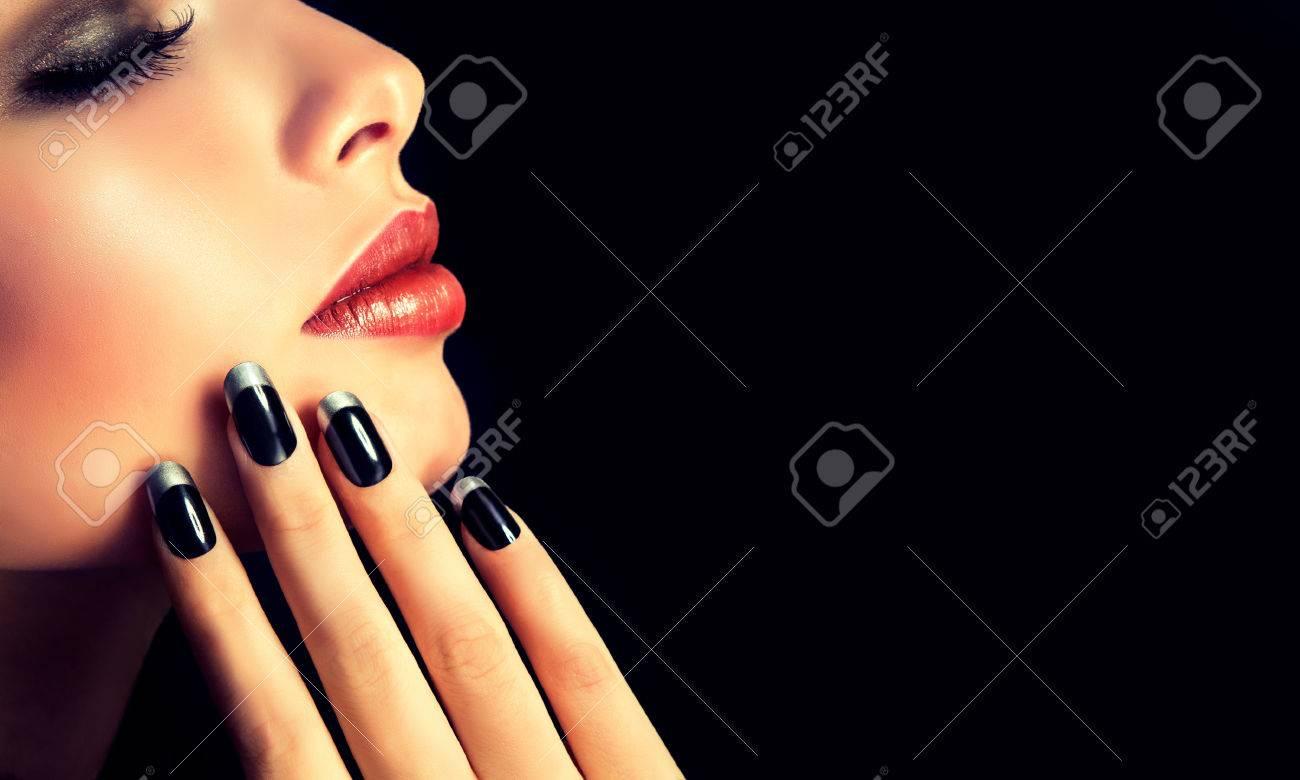 Luxury fashion style, manicure, cosmetics and makeup. - 47685795