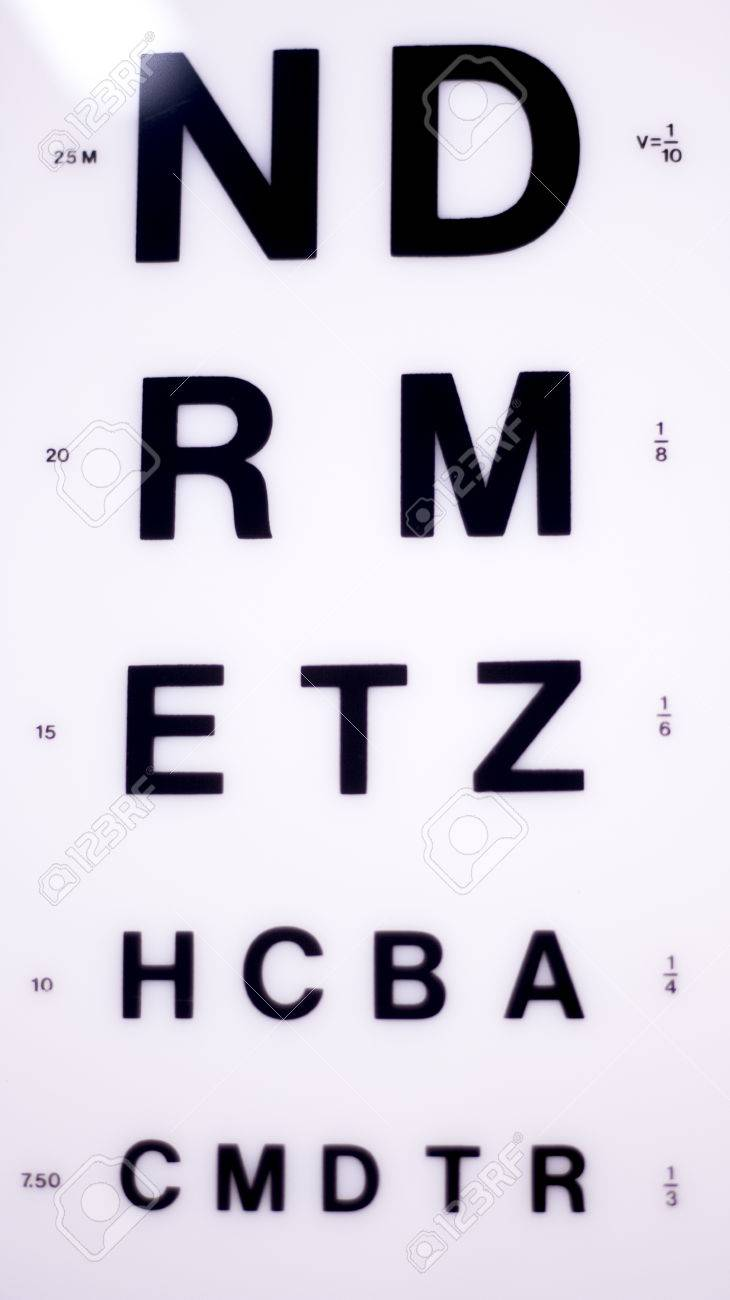Opticians ophthalmology and optometry eye test chart to test stock opticians ophthalmology and optometry eye test chart to test sight and vision for patients with eyesight geenschuldenfo Image collections