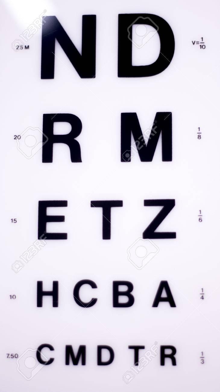 Opticians ophthalmology and optometry eye test chart to test opticians ophthalmology and optometry eye test chart to test sight and vision for patients with eyesight nvjuhfo Images